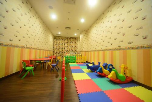 The kid's club at The Light Hotel Penang