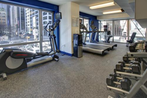The fitness centre and/or fitness facilities at Fairfield Inn by Marriott New York Manhattan/Financial District
