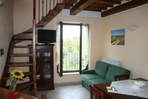 Гостиная зона в Casa Vacanze San Francesco
