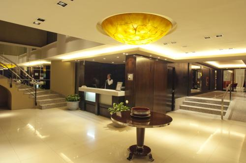 The lobby or reception area at Hotel Patagonia