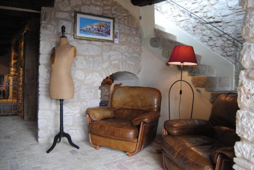 A seating area at Dimora & Spa Il Cerchio di Lullo