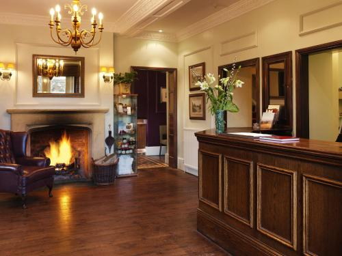 The lobby or reception area at Three Ways House Hotel; BW Signature Collection