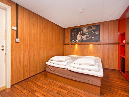 Et værelse på Omena Hotel Helsinki City Centre