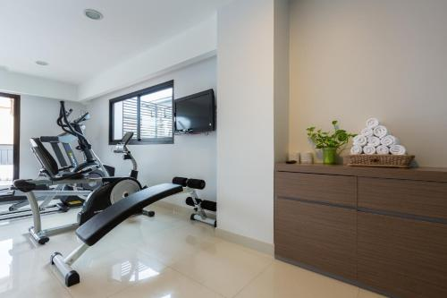 The fitness center and/or fitness facilities at Riche Hua Hin Hotel