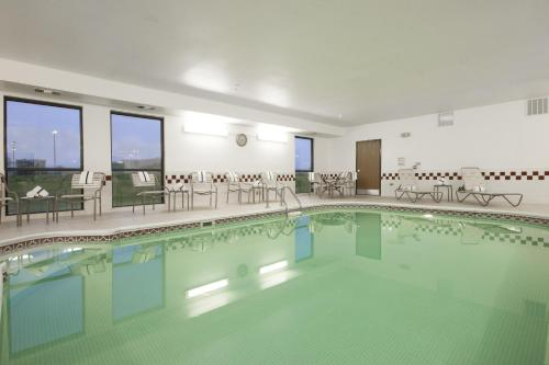 The swimming pool at or near Hampton Inn Decatur/Forsyth