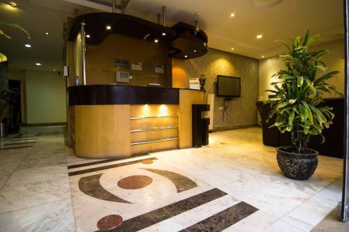 O saguão ou recepção de Almakan Suites 101