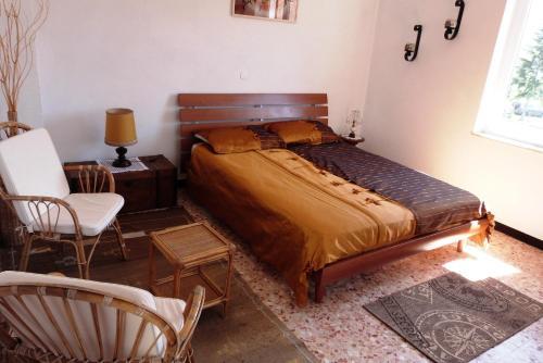 Letto o letti in una camera di Kalimera