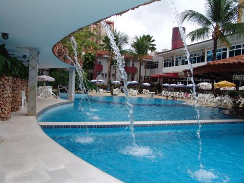 A piscina localizada em Hotel Taiyo ou nos arredores
