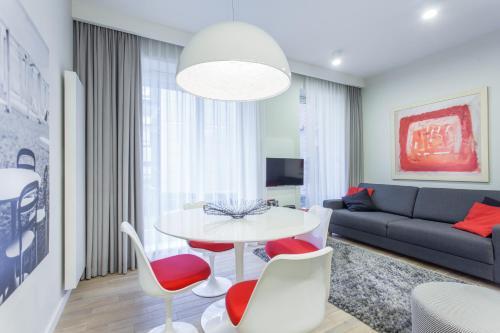 Część wypoczynkowa w obiekcie Apartament Soleil I