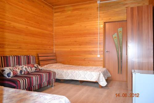 Кровать или кровати в номере Арасан Алаколь