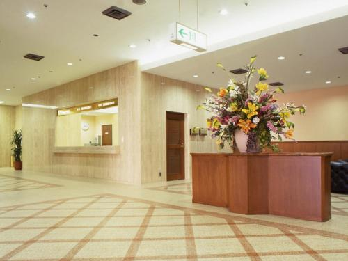 The lobby or reception area at Hotel North City