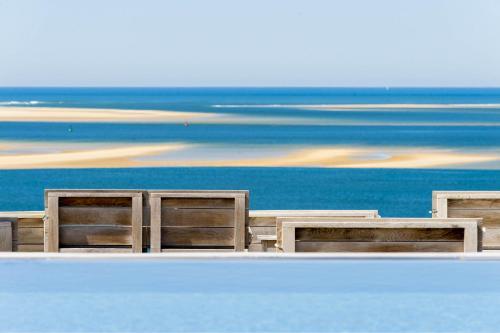 The floor plan of Hotel La Co(o)rniche