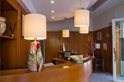 Hall o reception di Hotel Nice