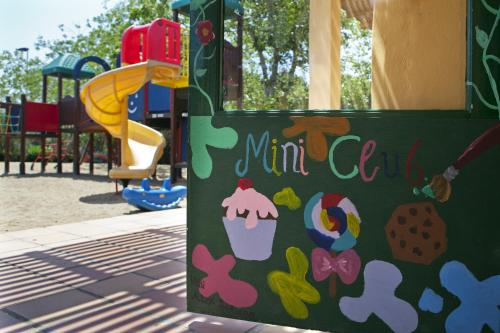 Children's play area at Candia Park Village