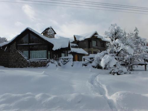 Miralagos Apart & Cabañas during the winter