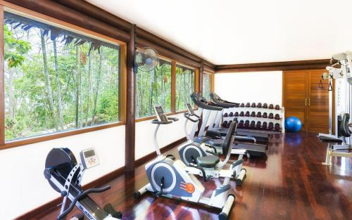 The fitness center and/or fitness facilities at Sheraton Samoa Beach Resort