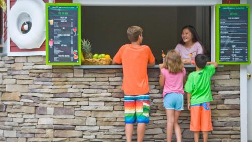 Children staying at Green Mountain Inn