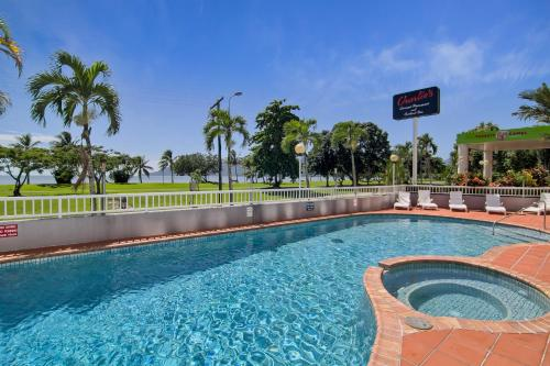 The swimming pool at or near Acacia Court Hotel