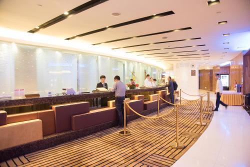 Members of staff at Ocean Hotel