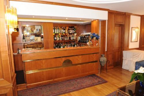 The lounge or bar area at Benito Al Bosco