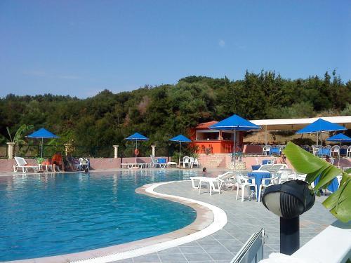 Πισίνα στο ή κοντά στο Brati - Arcoudi Hotel