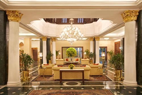 The lobby or reception area at The Oberoi Grand Kolkata