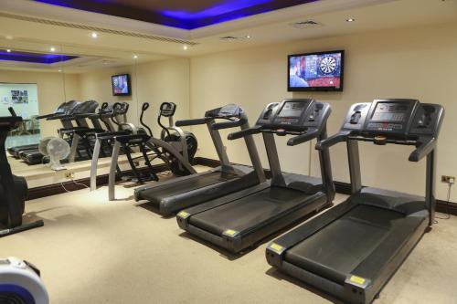 The fitness center and/or fitness facilities at Kilronan Castle Hotel & Spa