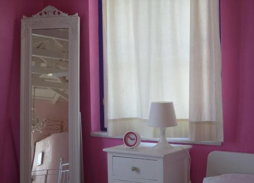 Ένα μπάνιο στο Vlichos Studio Apartment