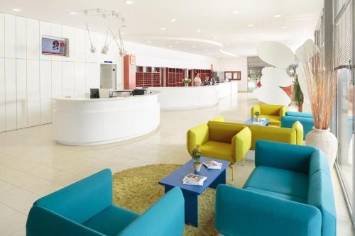 The lobby or reception area at Apartments Polynesia Plava Laguna
