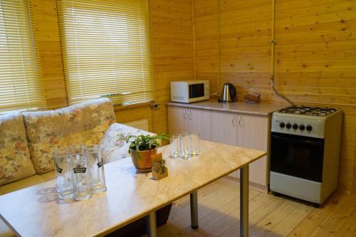 Кухня или мини-кухня в Раманов Плес
