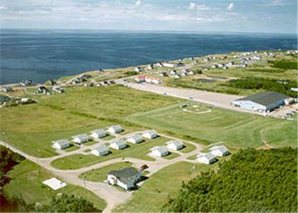 A bird's-eye view of Cabot Trail Sea & Golf Chalets