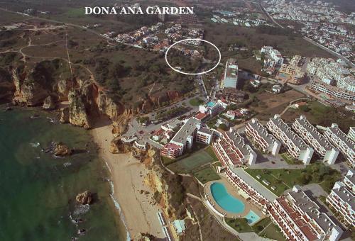 Dona Ana Garden a vista de pájaro