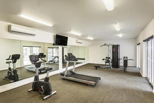The fitness center and/or fitness facilities at Quest Townsville on Eyre