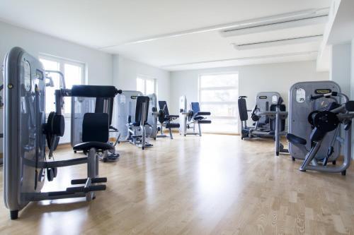 Fitnesscenter och/eller fitnessfaciliteter på Landvetter Airport Hotel, Best Western Premier Collection
