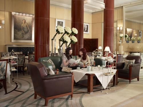 A restaurant or other place to eat at Claridge's