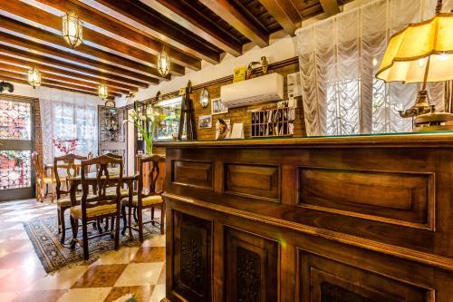 Salon ou bar de l'établissement Hotel Ariel Silva