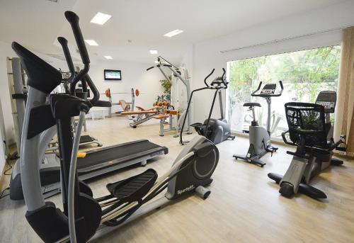 Het fitnesscentrum en/of fitnessfaciliteiten van The Sindbad