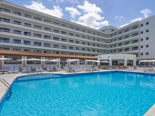 The swimming pool at or near BQ Can Picafort Hotel