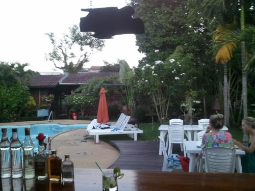 A restaurant or other place to eat at Namkhong Guesthouse and Resort