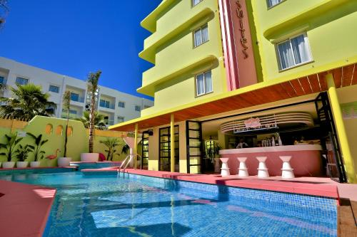 The swimming pool at or near Tropicana Ibiza - Adults Only