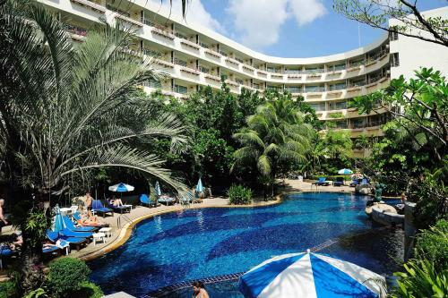 A view of the pool at The Royal Paradise Hotel & Spa - SHA Plus or nearby