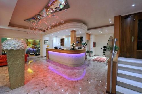 Vstupní hala nebo recepce v ubytování Hotel Ca' D'Oro