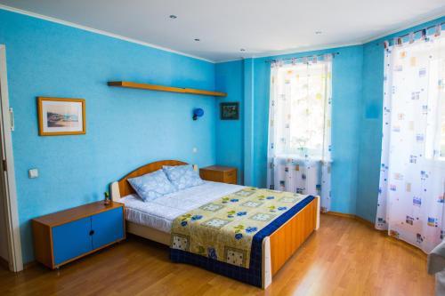 Кровать или кровати в номере RedSquare Lux Apartament