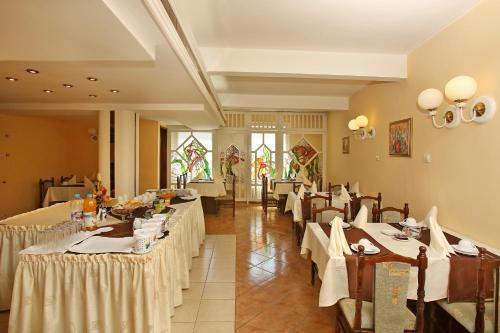 Ресторант или друго място за хранене в Хотел Сплендид Русе
