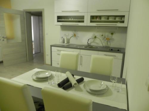 Kuhinja oz. manjša kuhinja v nastanitvi Apartments Vesna