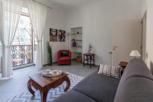 Area soggiorno di Gianicolo Holiday House