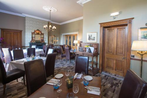 A restaurant or other place to eat at Sweeney Hall Hotel