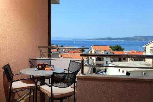 Balkón nebo terasa v ubytování Apartments Vila Adrijana & Fitness Studio WOLF