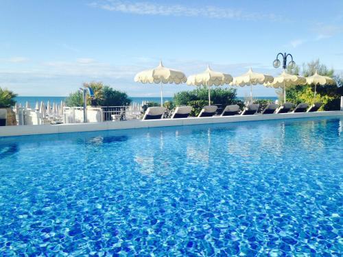 The swimming pool at or near Hotel Delle Nazioni