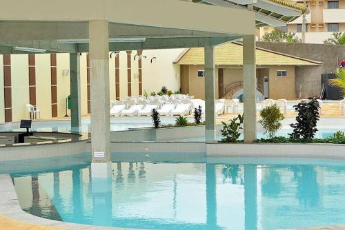 The swimming pool at or near Via Caldas Exclusive